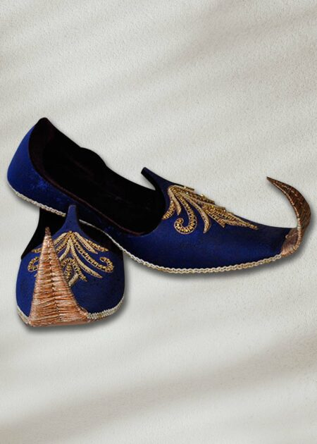 Blue Fancy Khussa for Men