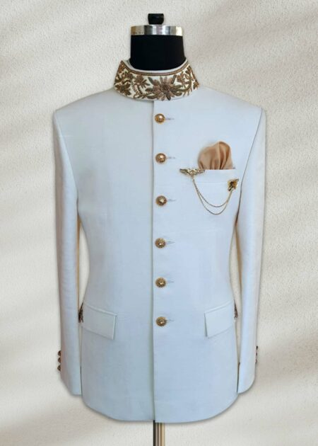 Royal White Prince Suits