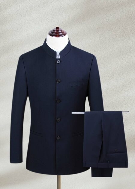 Navy Blue Prince Suit