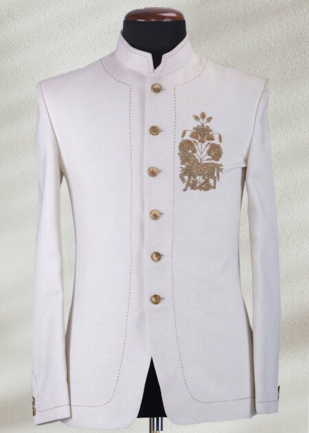 White Prince Suit