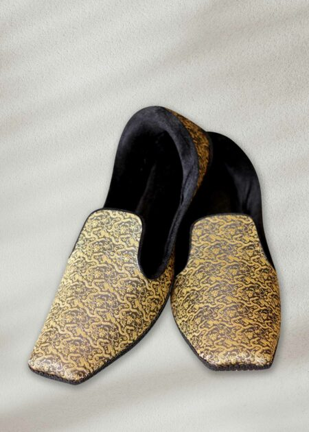 Gold & Black Khussa