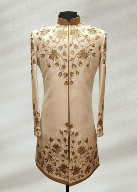 Pinch of Cream Sherwani