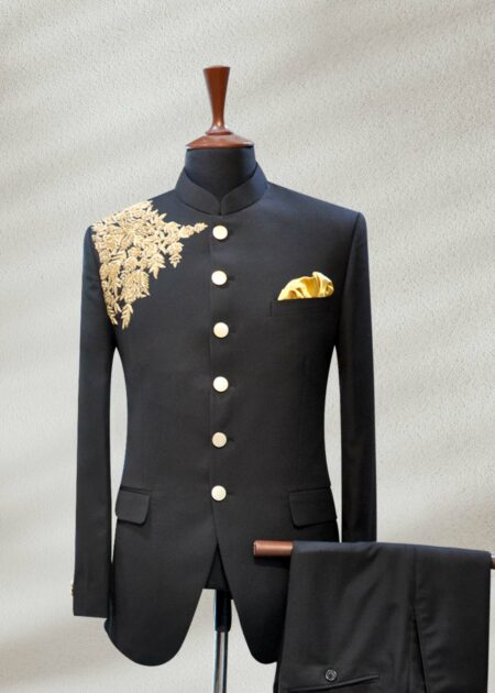 Kings Black Prince Suit
