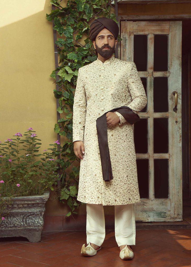 Stylish Sherwani Styles for Groom Sherwani Styles