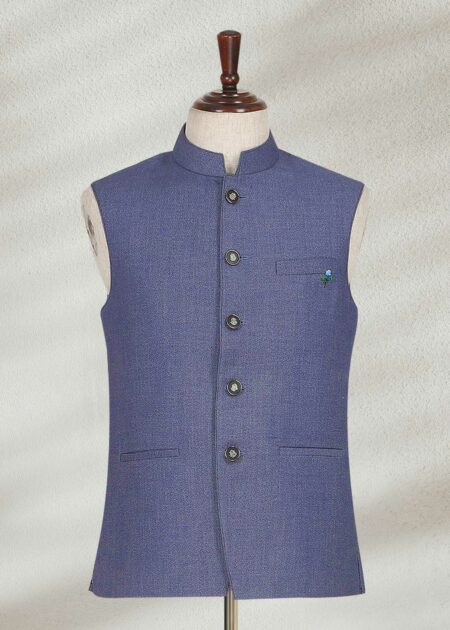 Light Denim Waistcoat