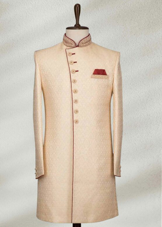 Buy Beige Color Sherwani