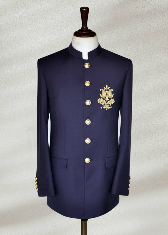 Ink Blue Prince Suit