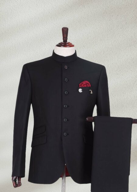 Royal Black Prince Suit