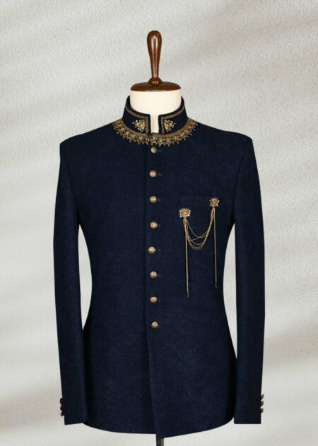Dark Blue Prince Suit