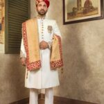 White Embroidered Sherwani