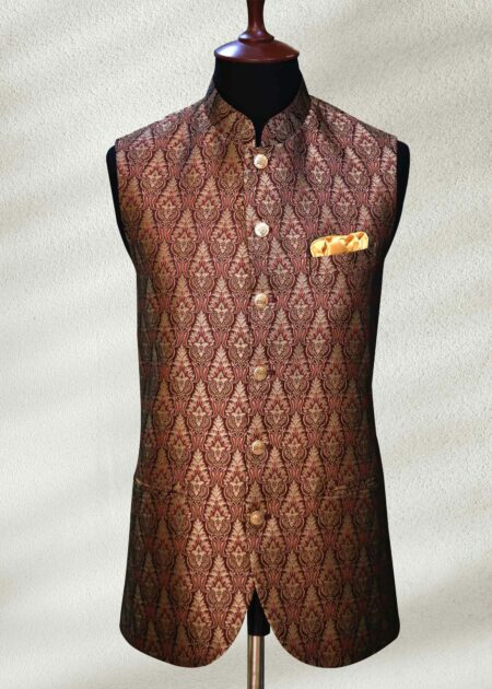 Red and Golden Waistcoat