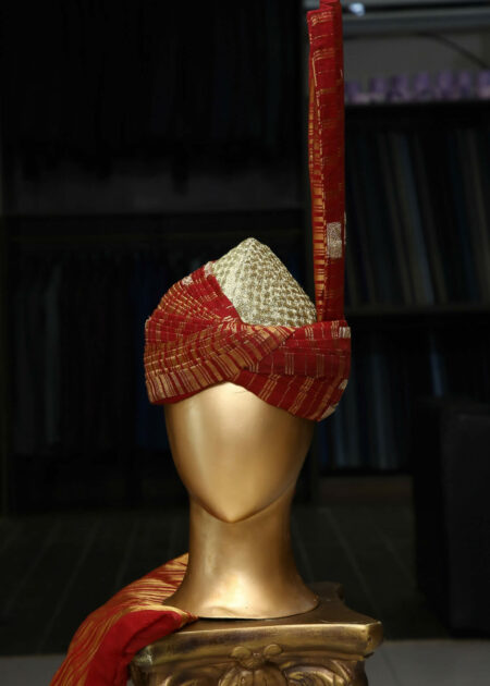 Traditional Red Turban