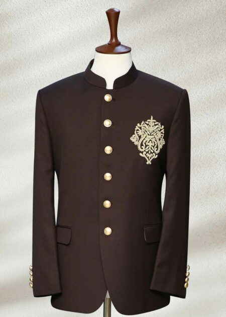 Chocolate Brown Prince Coat