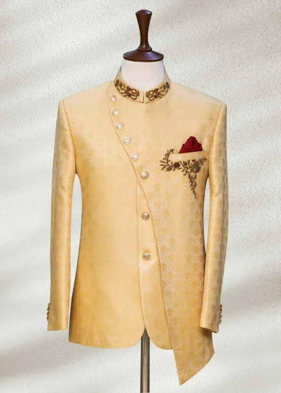 Gold Toned Prince Suit